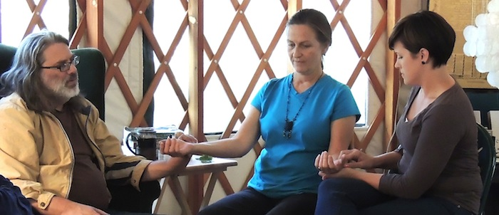 Matt Wood Teaching Traditional Diagnosis Skills at Green Comfort - 5
